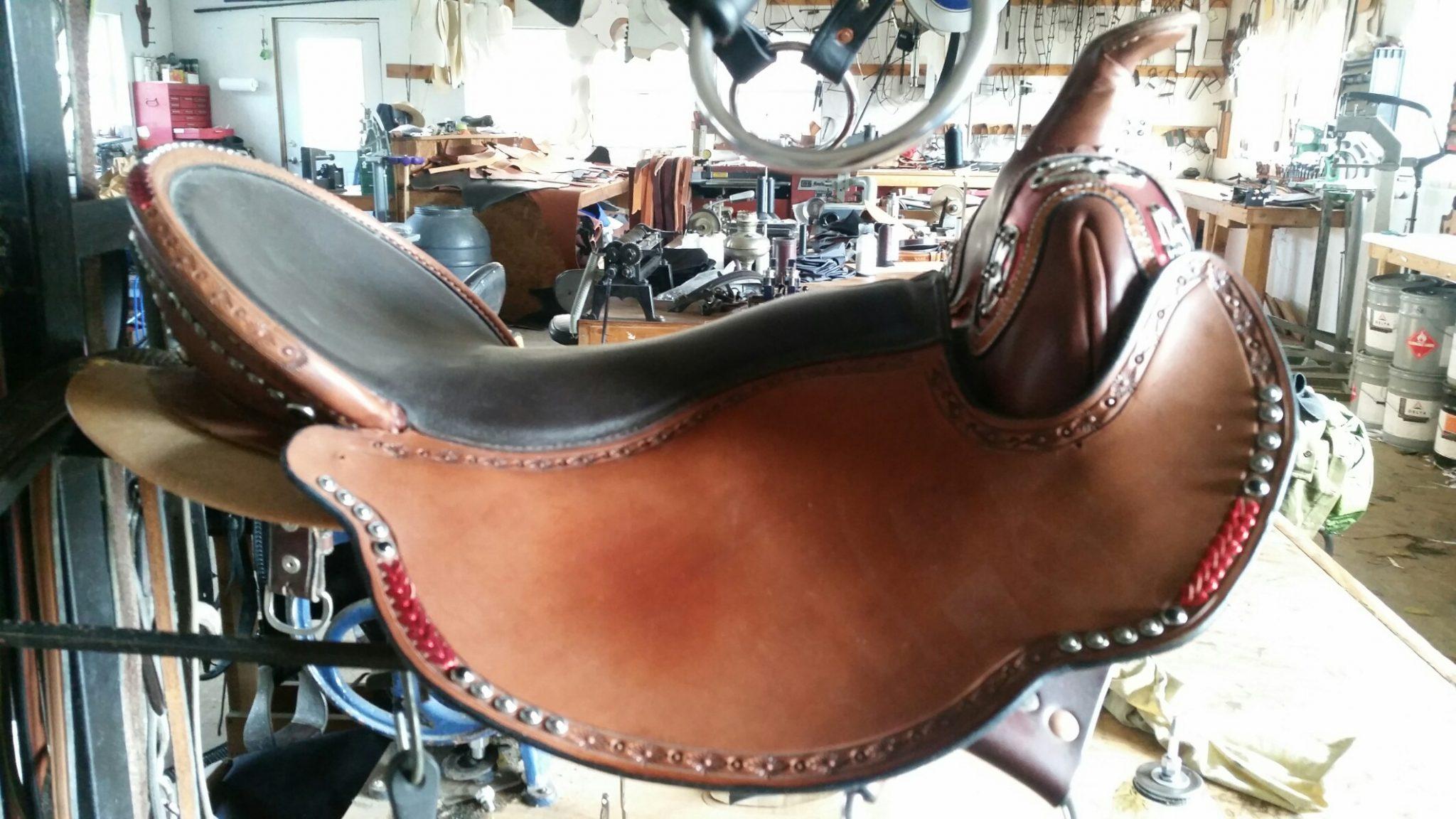 Eli Miller Custom Saddles | 5000 Miles of Hope