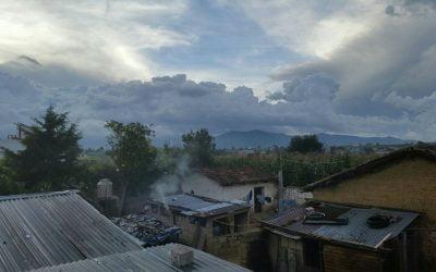 The Guatemalan border to San Andres Itzapa, home of Maya Pedal