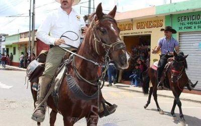 San Martin Jilotepeque Magno Desfile Hipico
