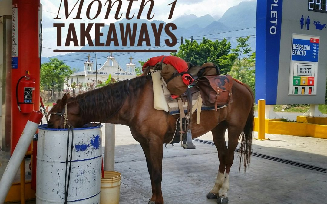 Month 1 | Takeaways